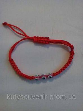 Браслет Красная нить, фото 2