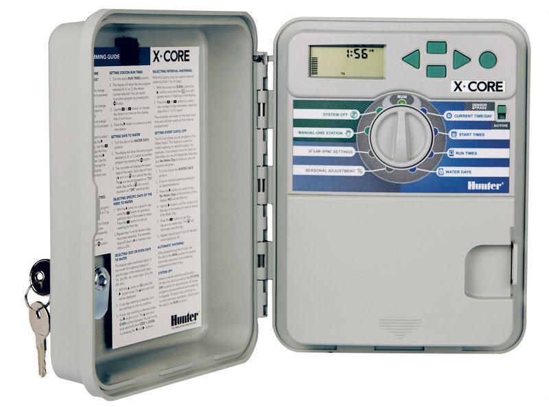 Электронный таймер полива Hunter X-CORE 601 - E (6 зон, наружный)
