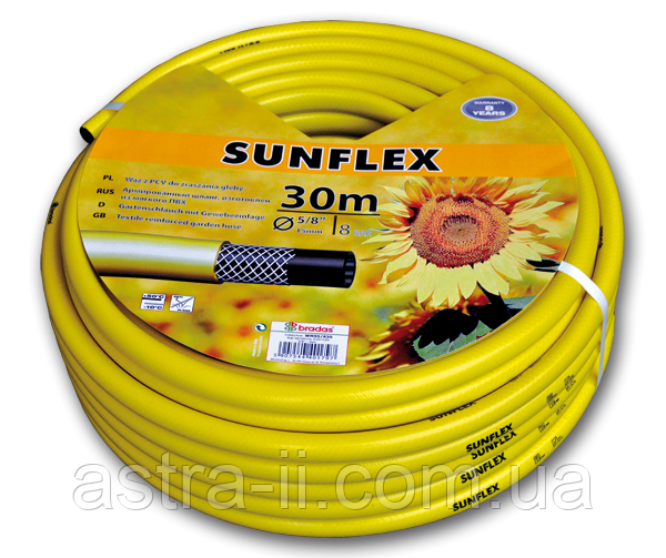 "Шланг для полива SUNFLEX 3/4"" 25м, WMS3/425"
