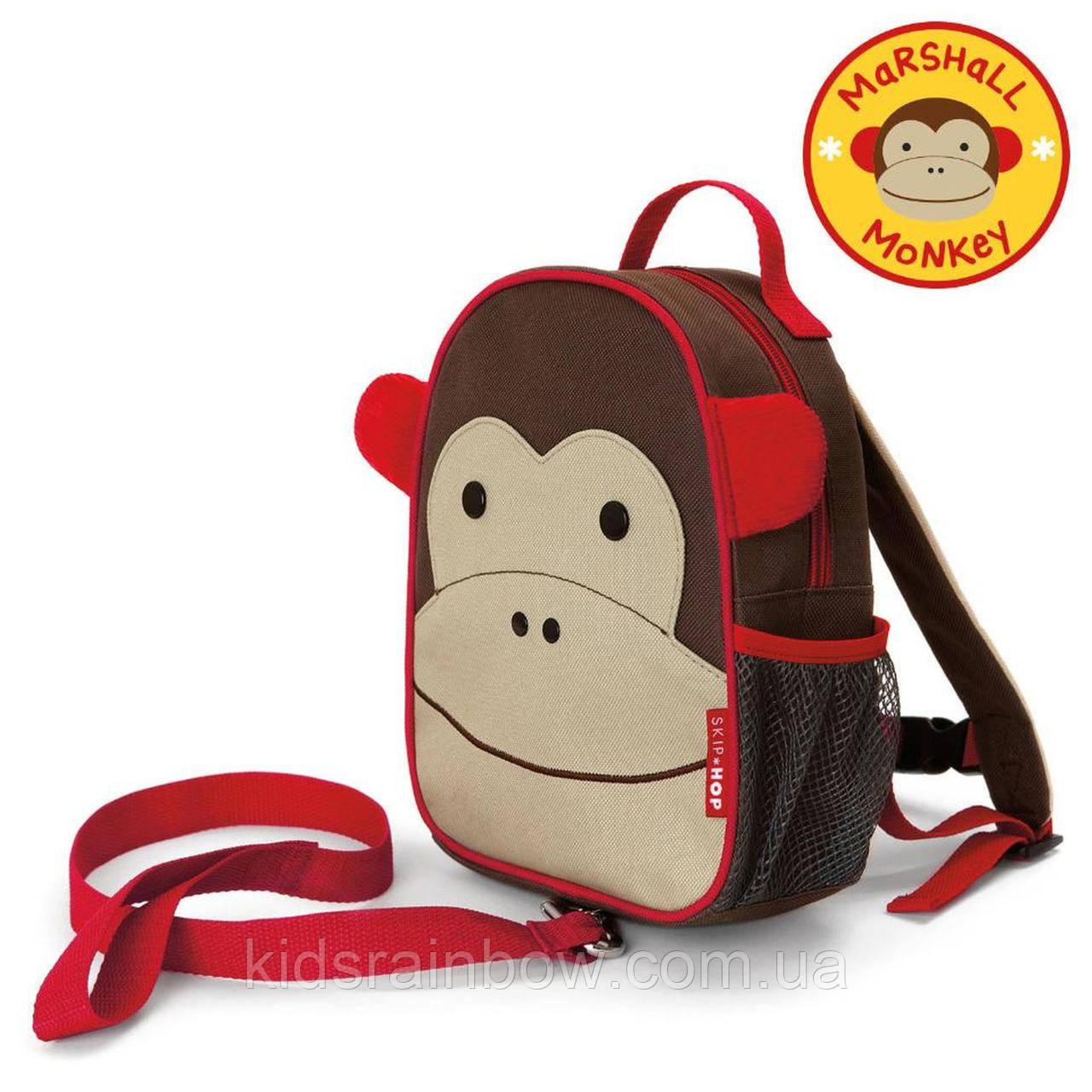 Рюкзак детский Skip Hop с ремешком безопасности Мартышка