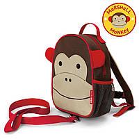Рюкзак детский Skip Hop с ремешком безопасности Мартышка, фото 1