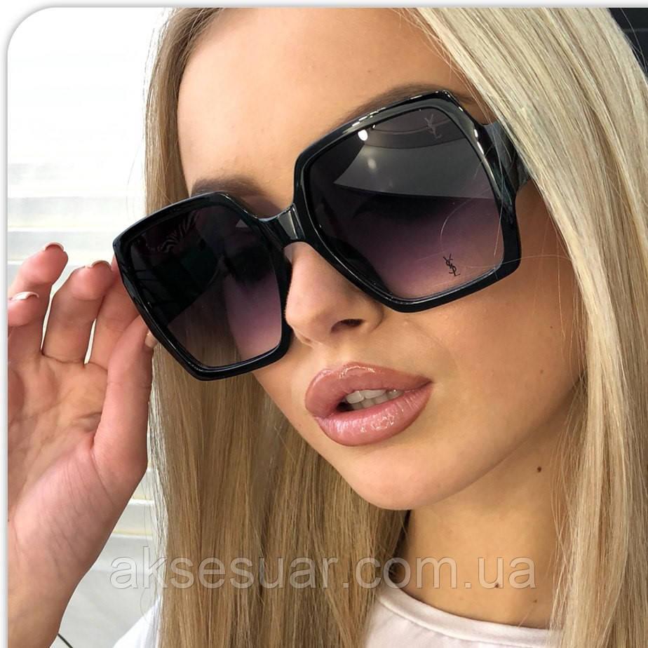 d4b2c8262438 Женские солнцезащитные очки Yves Saint Laurent 2019 прозрачная оправа