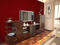 Стенка «Сайдборд С063» в гостиную Неман
