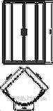 Душевая кабина Kolo Rekord PKPG90222003 + XBN1690000 + 150.551.21.1, фото 2