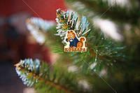 Елка 1м «Европейская Рождественская» белые кончики искусственная