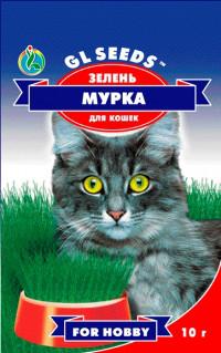 Зелень для кошки