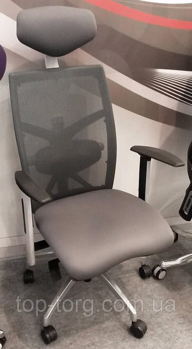Кресло офисное EXACT SLATEGREY FABRIC, SLATEGREY MESH компьютерное