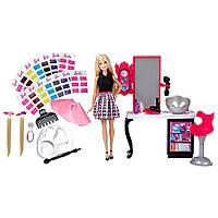 Игровой набор Разноцветный микс Игра с цветом + Стильный Салон Барби / Barbie Mix 'N Color + Style Salon Blond