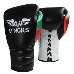 Боксерські рукавички V'Noks Mex Pro 8 ун.