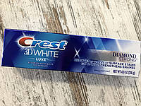 Укрепление эмали зубов и отбеливание Crest 3d White Luxe Diamond Strong, 136грам