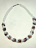 Ожерелье с кристалами , фото 2