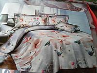 Постельное белье полуторка, двухспальный и евроразмер  Ранфорс