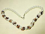 Ожерелье с кристалами , фото 4