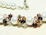 Ожерелье с кристалами , фото 5