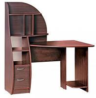 Компьютерный стол Арсенал с надстройкой. Стол для ПК в кабинет и офис