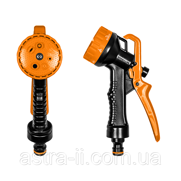 Пистолет для полива FLIPER пластиковый, 7 функций, ECO-2108