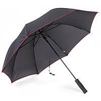 Зонт трость полуавтомат Remax RT-U4 black/red Черно-красный
