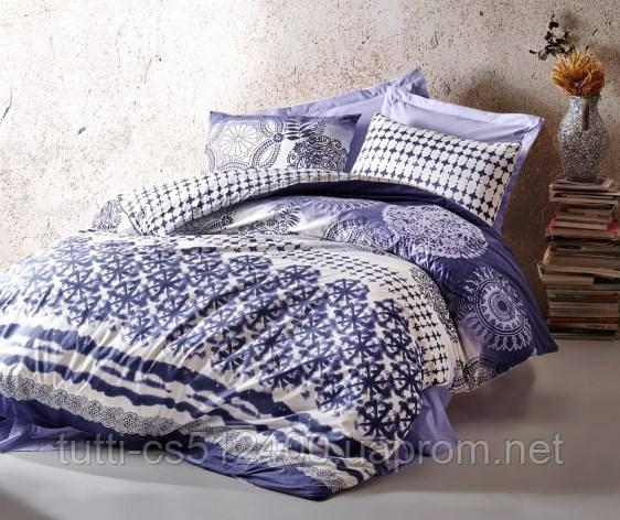 Купить Постельное белье Cotton Box 200х220 ранфорс Lucca Mavi