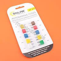 Комплект предохранителей 10шт. SOLAR Автоэлектроника  AF311
