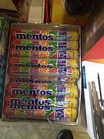 жевательное драже Mentos Фрукты 20 шт x 37