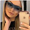 PRADA женские брендовые очки 2019,цвет голубой