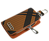 Ключница Carss с логотипом AUDI 01014 карбон коричневый, фото 2