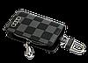 Ключниця Carss з логотипом AUDI 01013 карбон сірий, фото 3