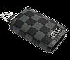 Ключниця Carss з логотипом AUDI 01013 карбон сірий, фото 4