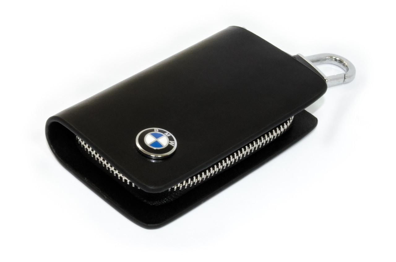 Ключница Carss с логотипом BMW 12002 черная