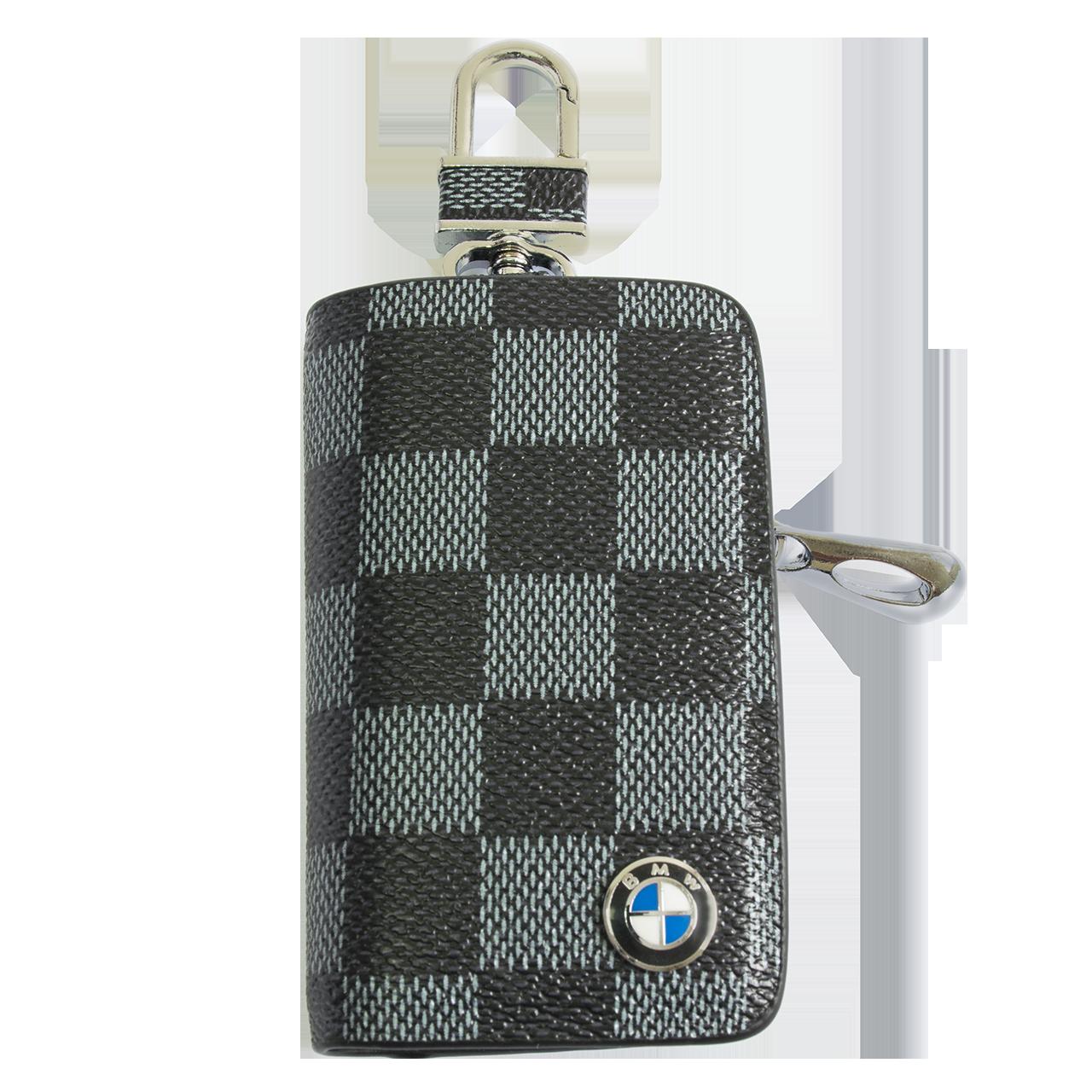 Ключниця Carss з логотипом BMW 12013 карбон сірий