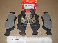Колодки тормозные дисковые Mescedes SPRINTER(906)/VW CRAFTER 06- задние