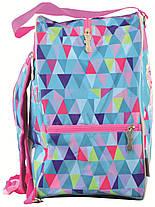"""Рюкзак - сумка для коньков """"1 Вересня"""" Frozen, 555352, фото 2"""