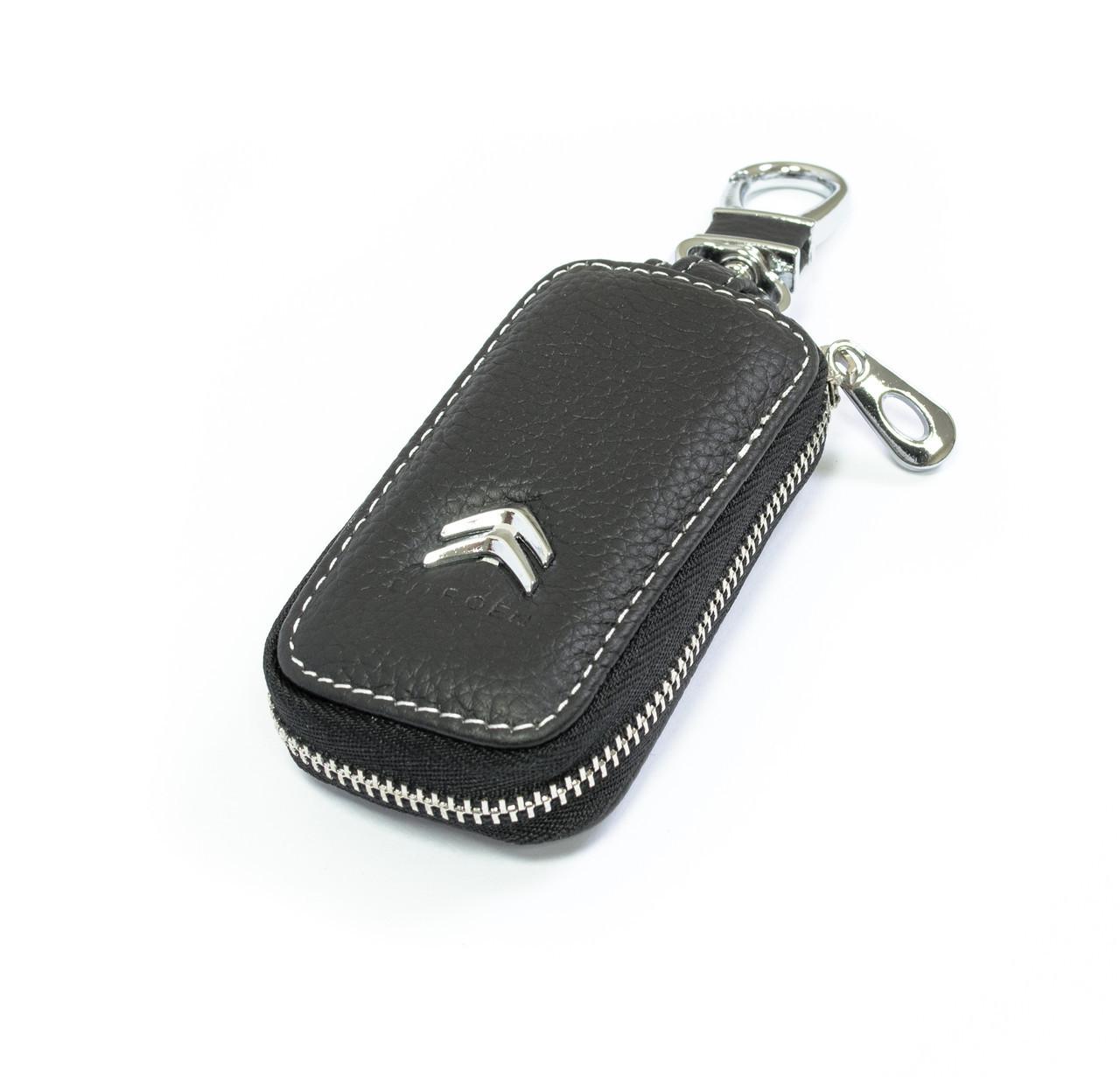 Ключниця Carss з логотипом CITROEN 17010 чорна