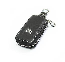 Ключница Carss с логотипом CITROEN 17010 черная