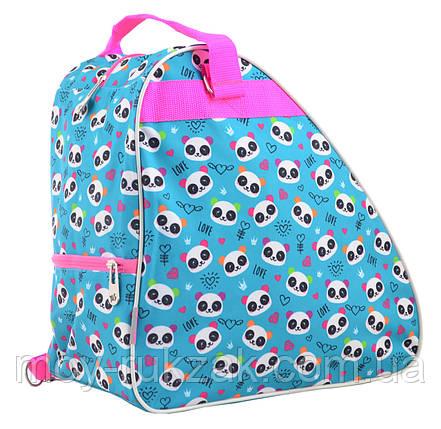 """Рюкзак - сумка для коньков """"YES"""" Lovely pandas, 555350, фото 2"""