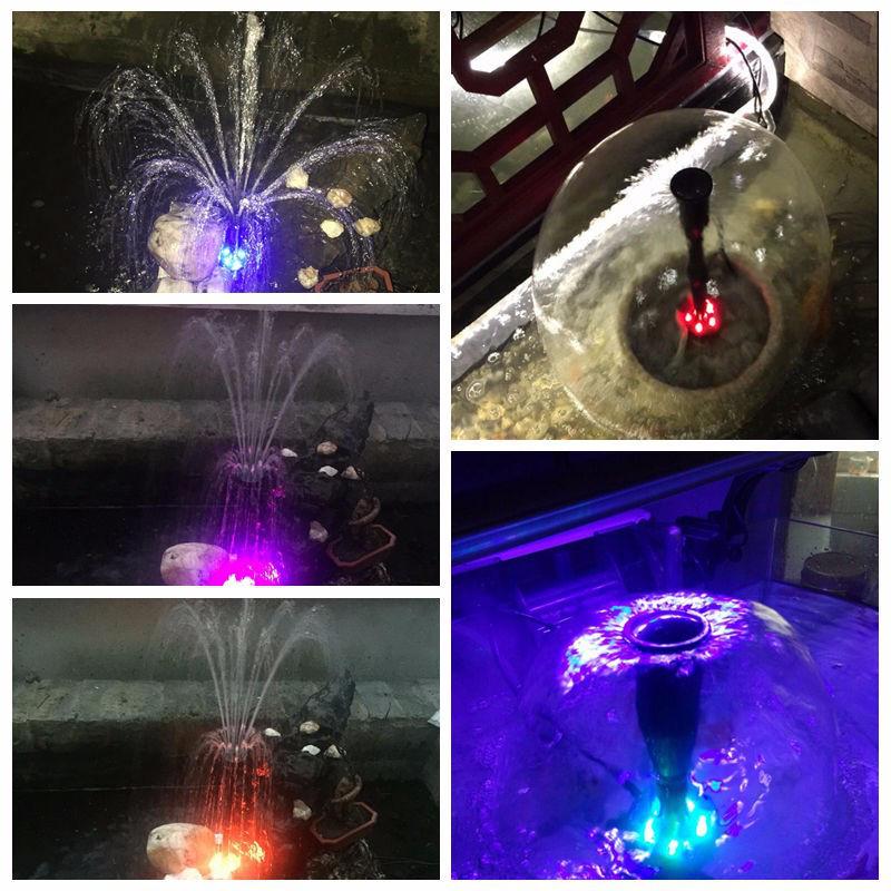Фонтан со светодиодной подсветкой, 40Вт