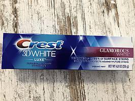 Отбеливающая зубная паста Crest 3D White Glamorous White, 136грамм