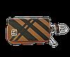 Ключниця Carss з логотипом HONDA 08014 карбон коричневий, фото 2