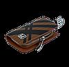 Ключниця Carss з логотипом HONDA 08014 карбон коричневий, фото 4