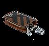 Ключниця Carss з логотипом HONDA 08014 карбон коричневий, фото 5