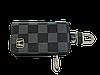 Ключниця Carss з логотипом HONDA 08013 карбон сірий, фото 3