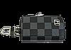 Ключниця Carss з логотипом HONDA 08013 карбон сірий, фото 4