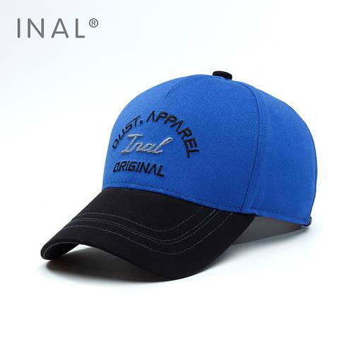 Кепка бейсболка, Original, L / 57-58 RU, Хлопок, Электрик, Inal
