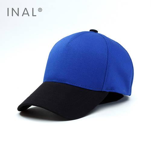 Кепка бейсболка, 5 панелей, L / 57-58 RU, Хлопок, Синий, Inal