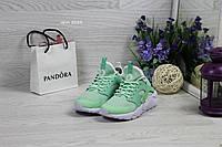 Женские кроссовки Nike Huarache (7 цветов), Мятные, Сетка, Пена, фото 1