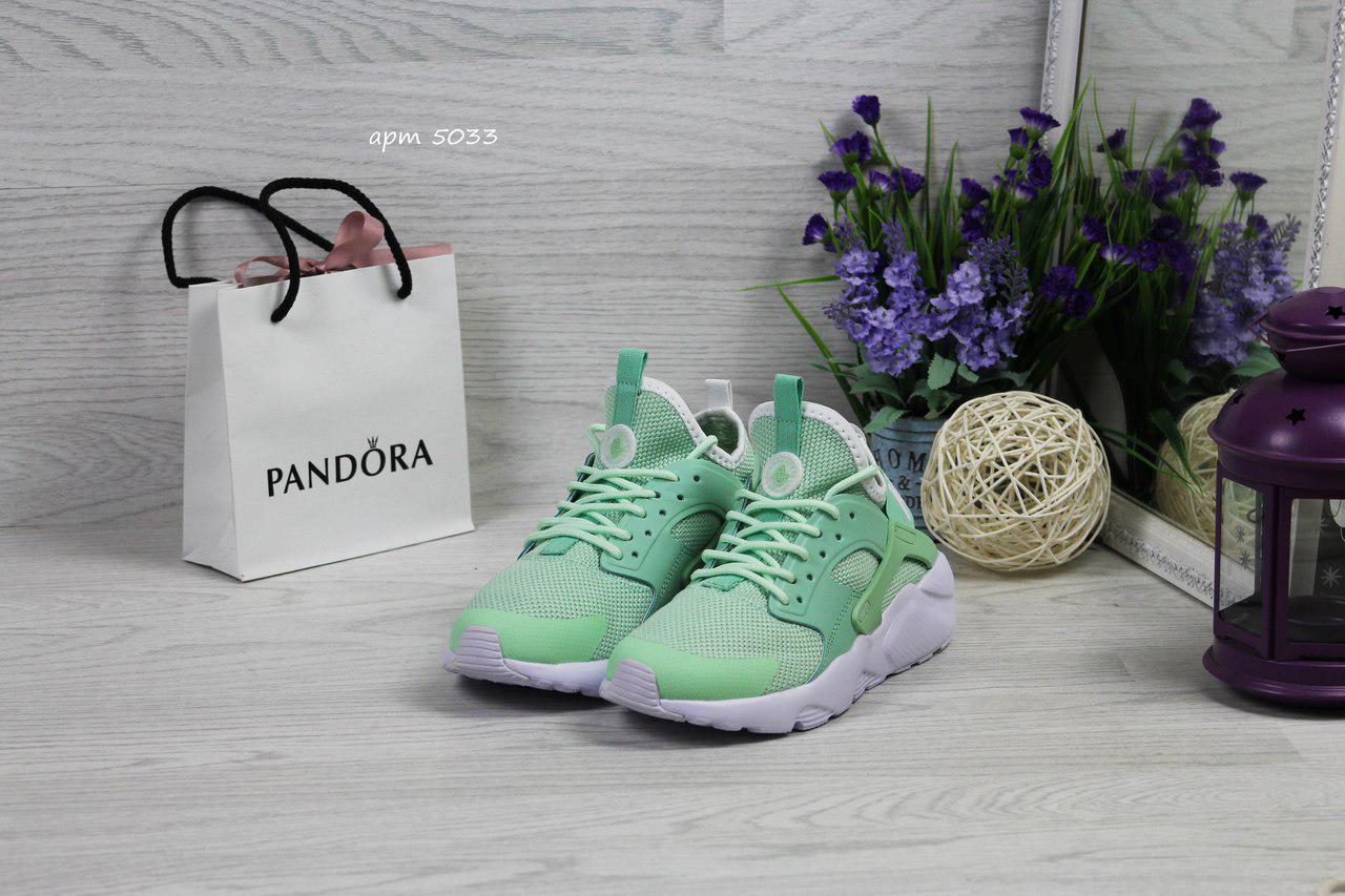 Женские кроссовки Nike Huarache (7 цветов), Мятные, Сетка, Пена