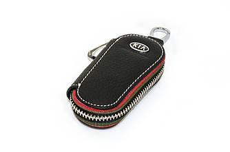 Ключница Carss с логотипом KIA 05005 черная