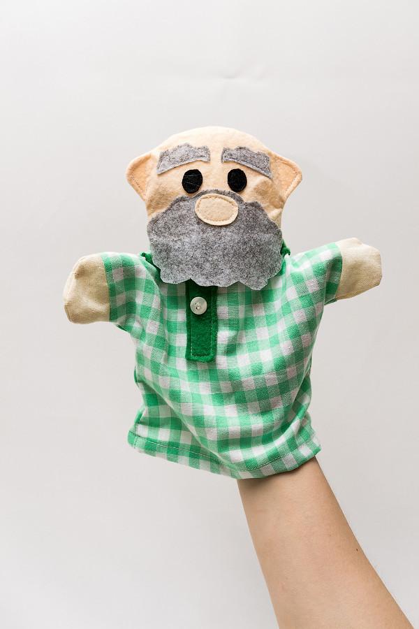 Кукла-перчатка Vikamade малая Дед