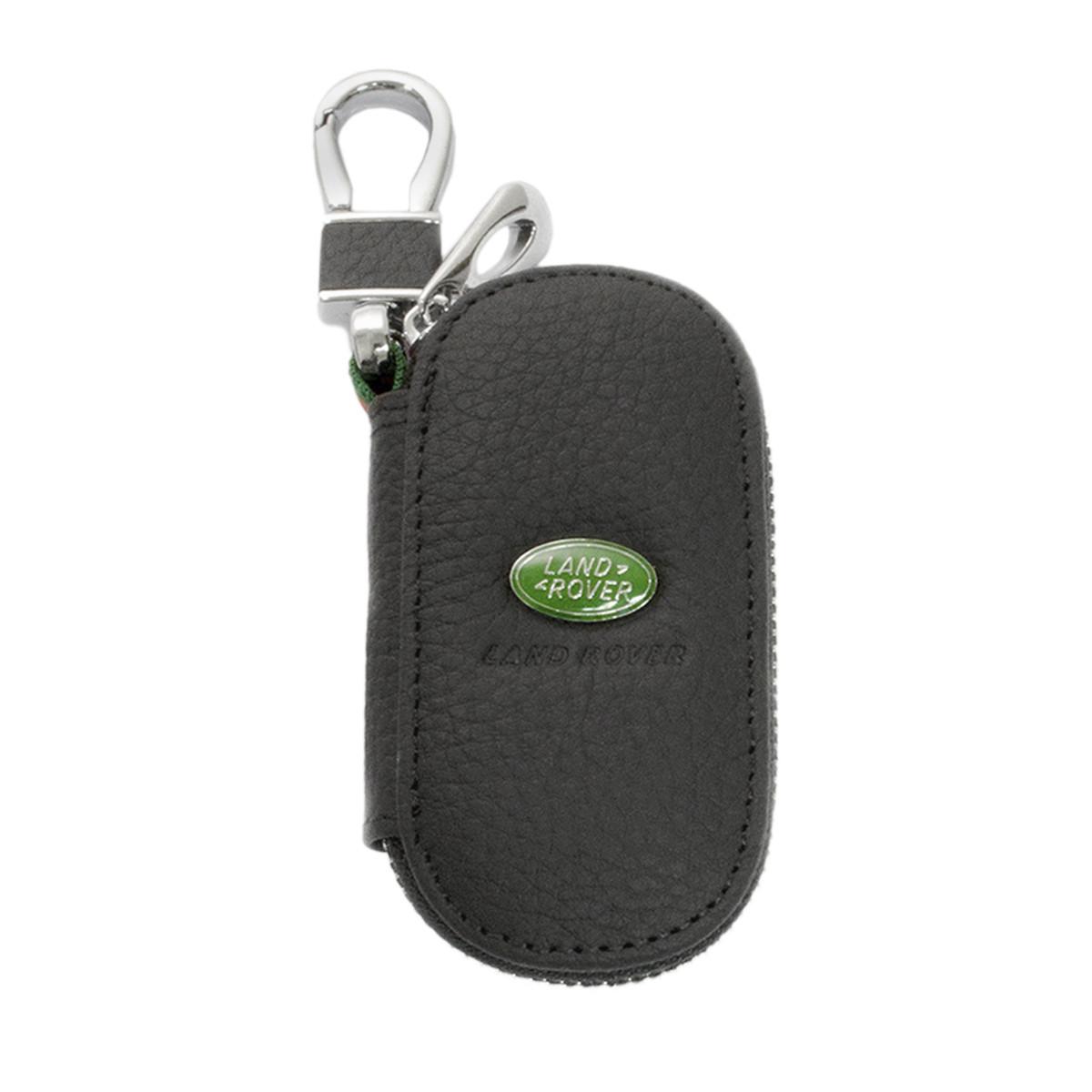 Ключниця Carss з логотипом LAND ROVER 15003 чорна
