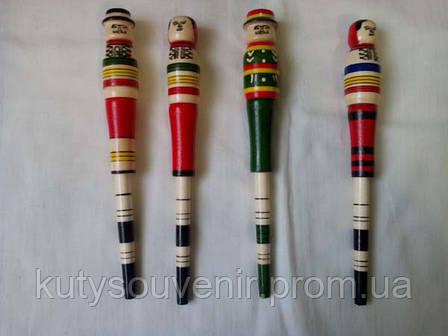 Деревянная ручка гуцулка, фото 2